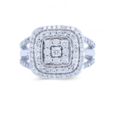 WLR191335W   Halo Rings   Payroll Jewelry