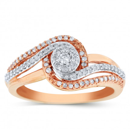 WLR50126P | Halo Ladies Engagement Ring | Payroll Jewelry