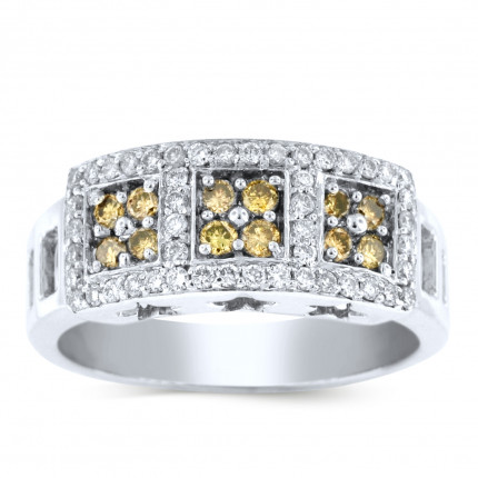 WLR62266W | White Gold Ladies Ring | Payroll Jewelry