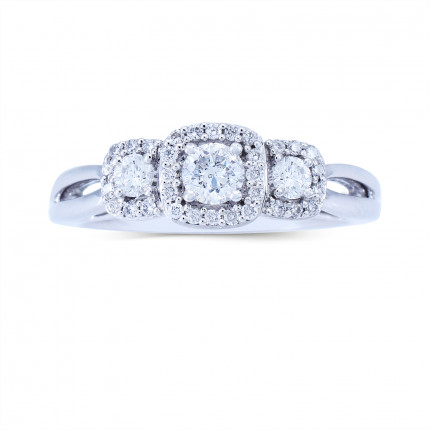 WLR803170W   Halo Rings   Payroll Jewelry