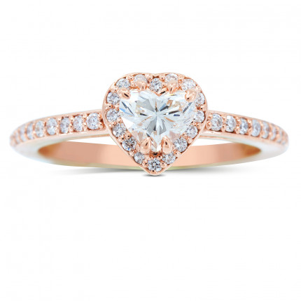 WS122088P | Halo Engagement Ring | Payroll Jewelry