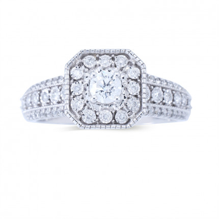 WS347W   Halo Rings   Payroll Jewelry