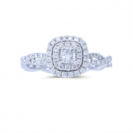 WS413PRW   Halo Rings   Payroll Jewelry