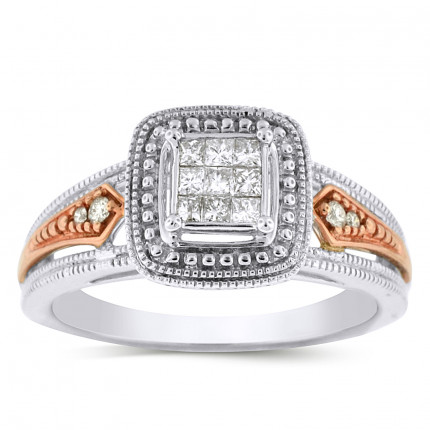 WSF13132PW | Halo Ladies Engagement Ring | Payroll Jewelry