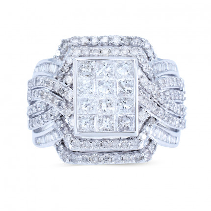WSF192970W | Halo Rings | Payroll Jewelry