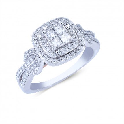 WSF479PW   Halo Rings   Payroll Jewelry