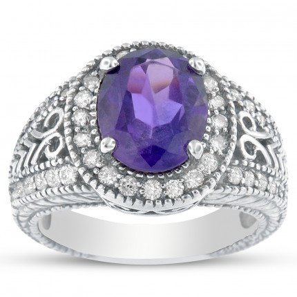 C4634-9X7A | Gemstone Ladies Ring | Payroll Jewelry