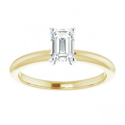 EM450Y | Solitaire Engagement Ring | Payroll Jewelry