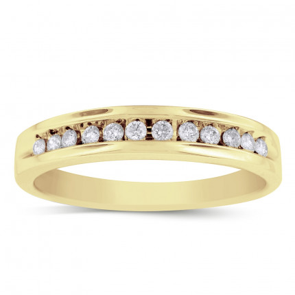 GWB0511MY | Yellow Gold Mens Ring. | Payroll Jewelry