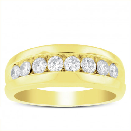 GWB8565Y | Yellow Gold Mens Ring. | Payroll Jewelry