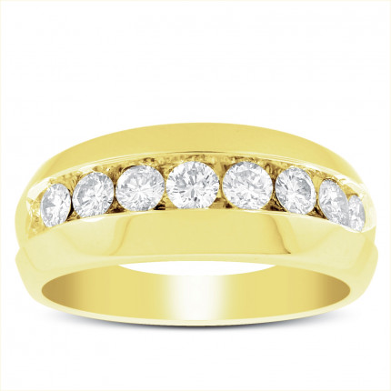 GWB9602Y | Yellow Gold Mens Ring. | Payroll Jewelry