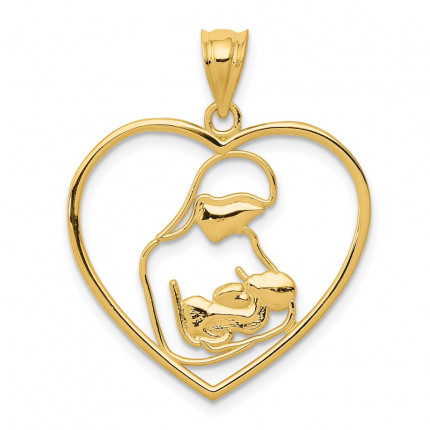 K4088 | Gold Pendant | Payroll Jewelry