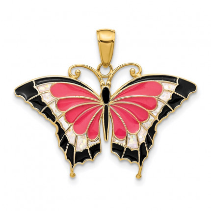 K4232 | Gold Butterly Pendant | Payroll Jewelry