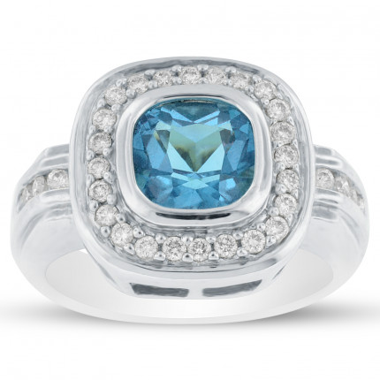 LCR32363W | Gemstone Ladies Ring | Payroll Jewelry