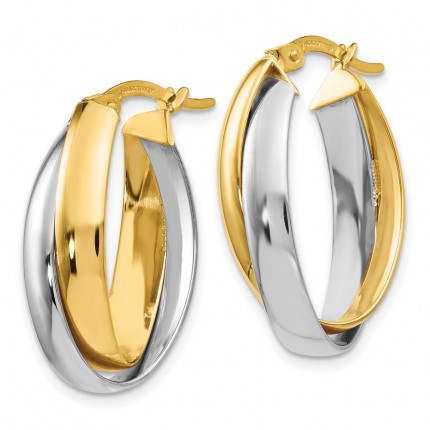 LE624 | Gold Hoop Earrings | Payroll Jewelry