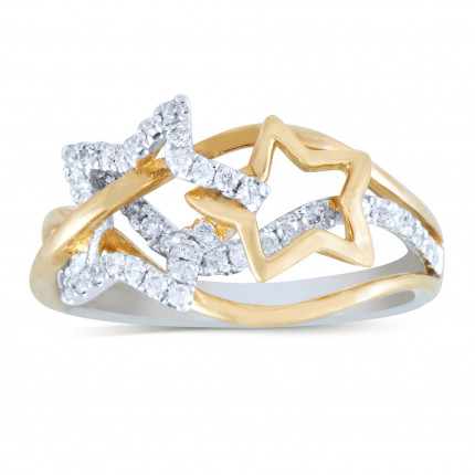 LR43201TT | White Gold Ladies Ring | Payroll Jewelry