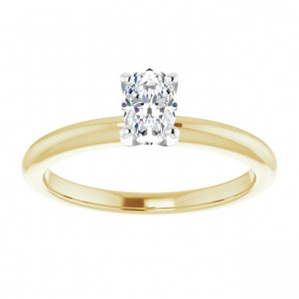 OV450Y | Solitaire Engagement Ring | Payroll Jewelry
