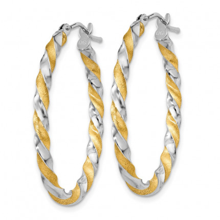 PRE780 | Gold Hoop Earrings | Payroll Jewelry