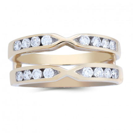 RG12213Y | White Gold Band | Payroll Jewelry