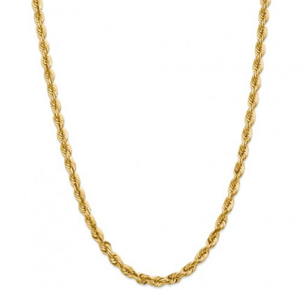 10BC170-20 | Gold Rope Chain - 20 inch | Payroll Jewelry