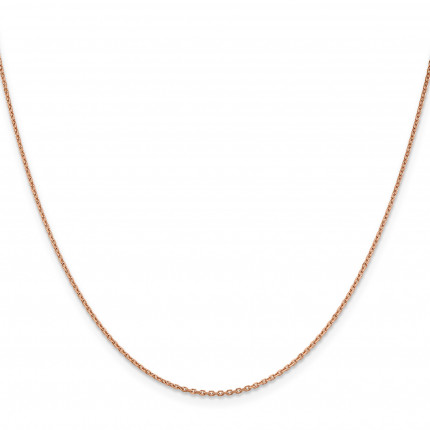 RSC21-18 | Rose Gold Cable Chain | Payroll Jewelry
