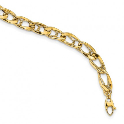 SF2559-7.5 | Gold Bracelet | Payroll Jewelry