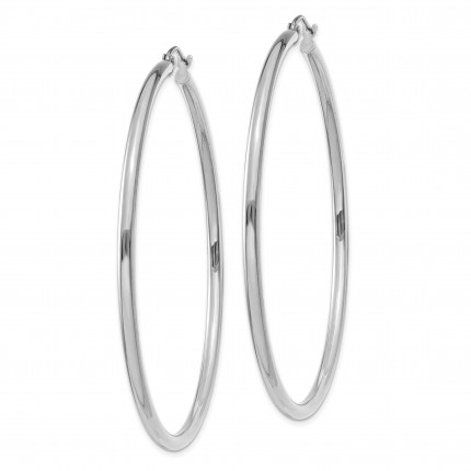 T842L | Gold Hoop Earrings | Payroll Jewelry