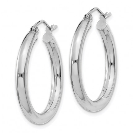 T850L | Gold Hoop Earrings | Payroll Jewelry