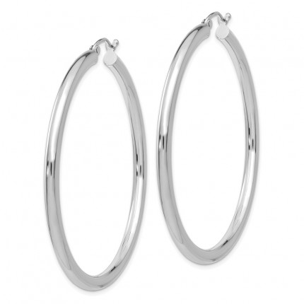 T854L | Gold Hoop Earrings | Payroll Jewelry
