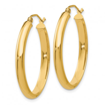 TC189 | Gold Hoop Earrings | Payroll Jewelry