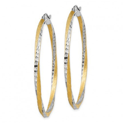 TC435 | Gold Hoop Earrings | Payroll Jewelry