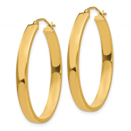 TC659 | Gold Hoop Earrings | Payroll Jewelry