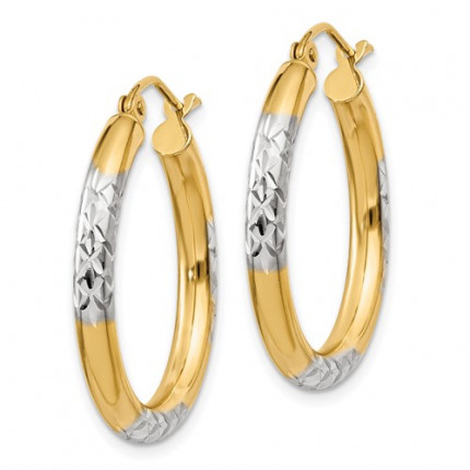 TC831 | Gold Hoop Earrings | Payroll Jewelry