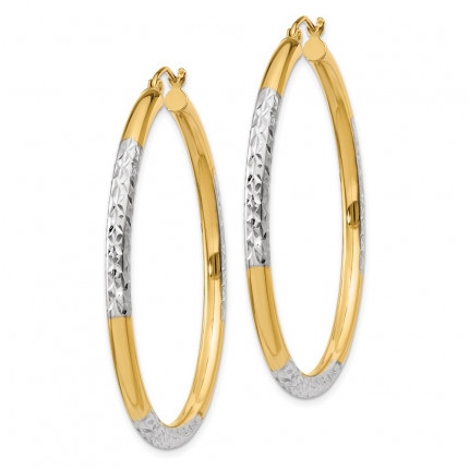 TC832 | Gold Hoop Earrings | Payroll Jewelry