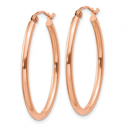 TF594 | Gold Hoop Earrings | Payroll Jewelry