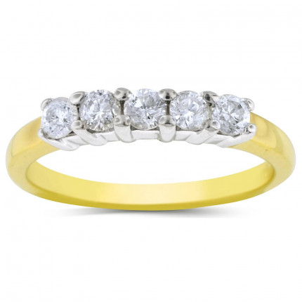 WB5208Y | Yellow Gold Band | Payroll Jewelry
