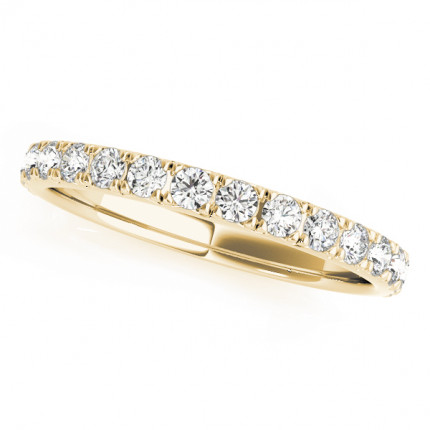 WB84842Y | Yellow Gold Band. | Payroll Jewelry