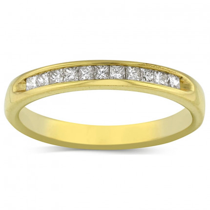 WB9165PRY | Yellow Gold Band | Payroll Jewelry