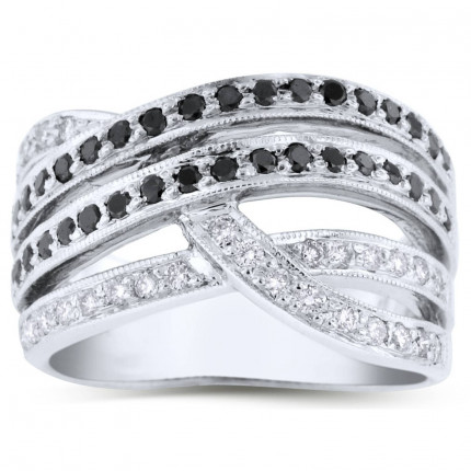 WLB65311W | White Gold Ladies Ring | Payroll Jewelry