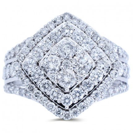 WLR181537W | Halo Rings | Payroll Jewelry