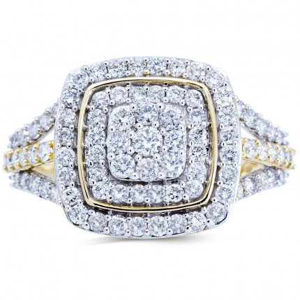 WLR191068Y | Halo Rings | Payroll Jewelry