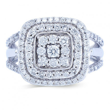 WLR191335W | Halo Rings | Payroll Jewelry