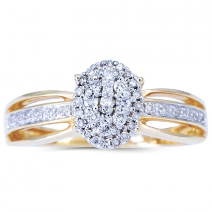 WLR234Y | Halo Rings | Payroll Jewelry
