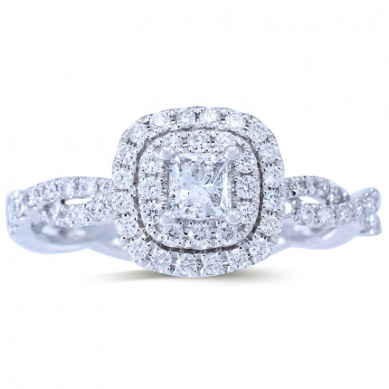 WS413PRW | Halo Rings | Payroll Jewelry