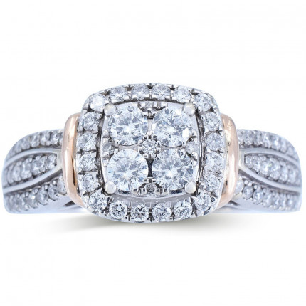 WSF462PW   Halo Rings   Payroll Jewelry