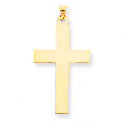XR530 | Gold Cross Pendant | Payroll Jewelry